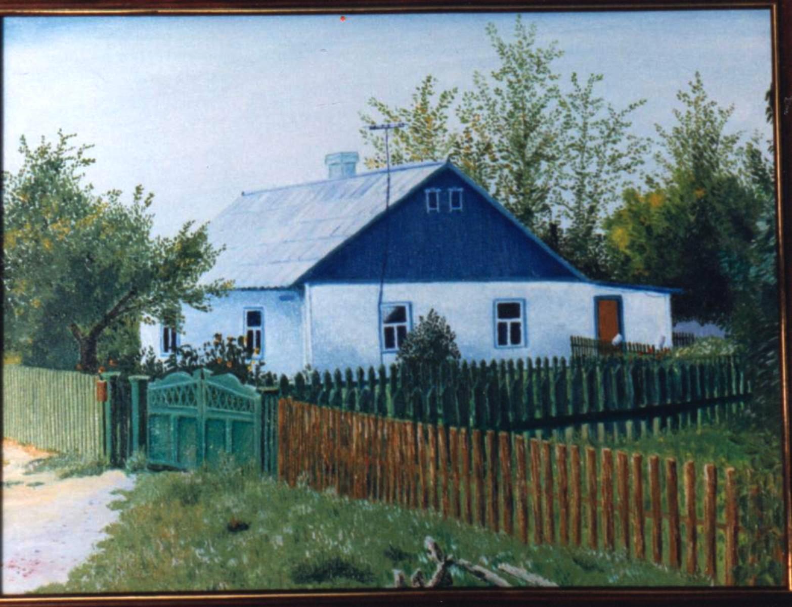 Wosmidomiki, Kasachstan, Haus